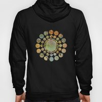 Abstract Floral Circles 2 Hoody