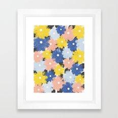 Yellena Spring Floral Framed Art Print