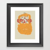 Der Bart Framed Art Print