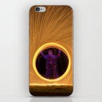 Light Man iPhone & iPod Skin