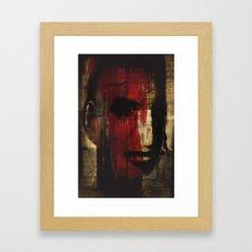 The Stare Framed Art Print