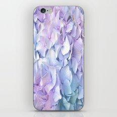 Soft Pastel Hydrangea iPhone & iPod Skin
