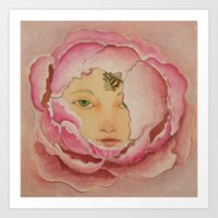 Bloom: Peony Art Print