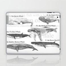 I. The Folio Whale Laptop & iPad Skin