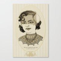 Ni Con El Pétalo De Una… Canvas Print