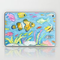 Crayon Fish #3 Laptop & iPad Skin