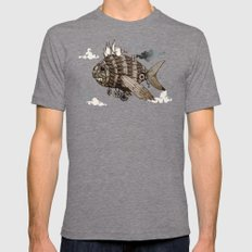 The Fleet Mens Fitted Tee Tri-Grey SMALL