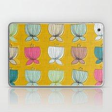 flower cups yellow Laptop & iPad Skin