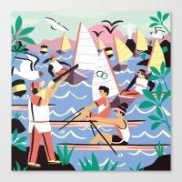 Olympics Rio Canvas Print