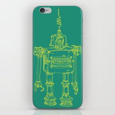 Yellow Robot iPhone & iPod Skin
