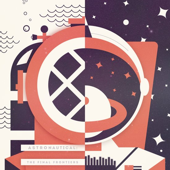 Astronautical: The Final Frontiers Art Print