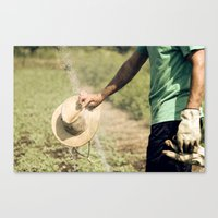 Farmer Canvas Print