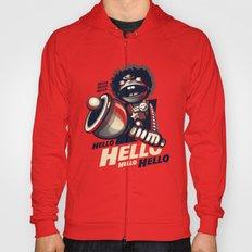 HELLO! HELLO! (red) Hoody