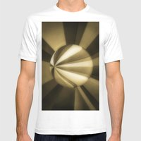 Sol Adentro, Obscuro Mens Fitted Tee White SMALL