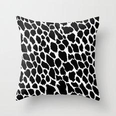 Leopard Polka Throw Pillow