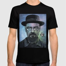 Heisenberg, Say my name! Black Mens Fitted Tee SMALL