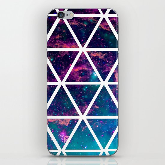 GALAXY TRIANGLES iPhone & iPod Skin