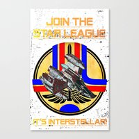 Join The Star League! Canvas Print