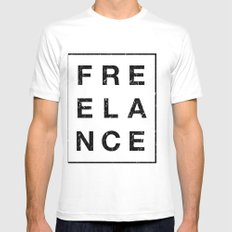 It ain't free White Mens Fitted Tee SMALL