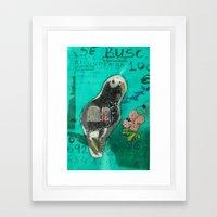 Perdido Framed Art Print