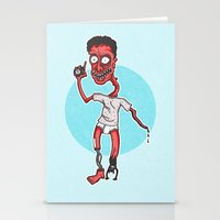 dance with the devil Stationery Cards