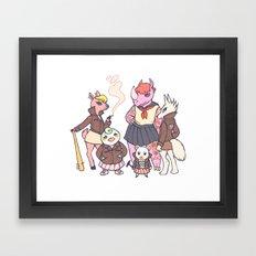 AC gang Framed Art Print