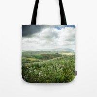 Hills Of Sicily Tote Bag