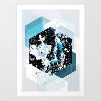 Geometric Textures 4 Art Print
