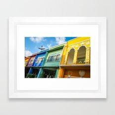 RAINBOW (PHOTOGRAPHY) Framed Art Print