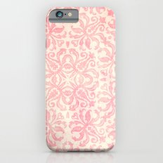 Shabby Arabesque Pattern Slim Case iPhone 6s