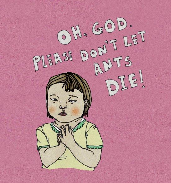 A little prayer series-1 Art Print