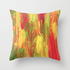 Abstract Painting 25 Throw Pillow