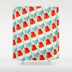 Bomp Pop Pattern Shower Curtain