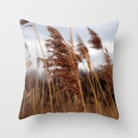 Stay In The Wind. Throw Pillow