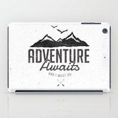 ADVENTURE AWAITS iPad Case