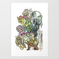 Sick Sick Sick Marc M. O… Art Print