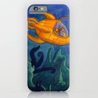 iPhone & iPod Case featuring Deep Sea Adventure by Theresa Flaherty