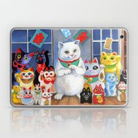 Lucky Cats Laptop & iPad Skin