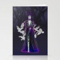 Mistress Of All Evil Stationery Cards