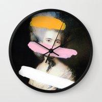 Brutalized Gainsborough … Wall Clock