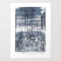 12:26 And Missing You Art Print