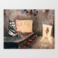The Royal Ten Dollar Gold Piece Inn and Emporium Canvas Print
