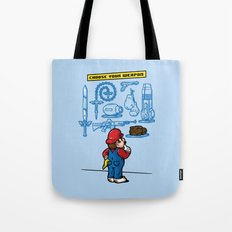 Weapon of Choice Tote Bag