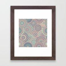 Mandala (Floral 002) Framed Art Print