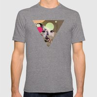 Year of the Geisha Mens Fitted Tee Tri-Grey SMALL