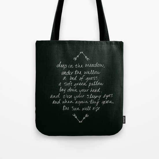 Rue's Song Tote Bag