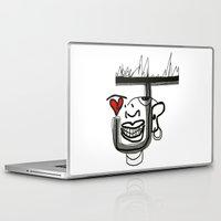 joker Laptop & iPad Skins featuring Joker by Garyharr