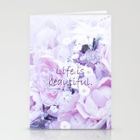 Life Is Beautiful. Stationery Cards