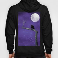 Moonlit Winter Sky Hoody