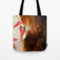 Blood + Lipstick Tote Bag
